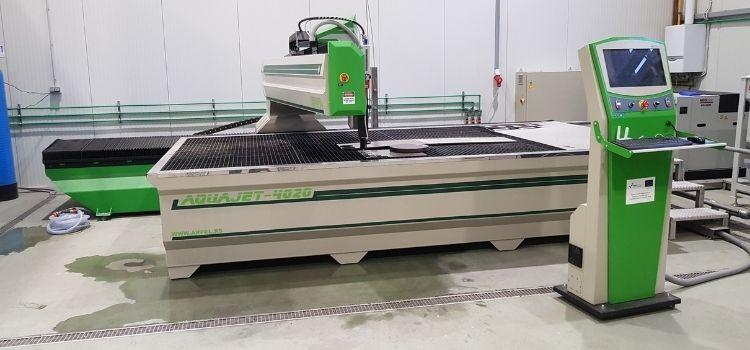 Aquajet CNC mašine