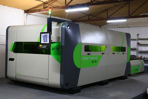 fiber laser cena